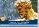 Sankt Petersburg (Tischkalender 2022 DIN A5 quer)