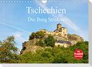 Tschechien - Die Burg Strekov (Wandkalender 2022 DIN A4 quer)