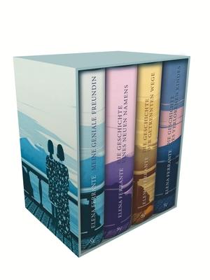 Ferrante, Elena. Neapolitanische Saga (4 Bände).