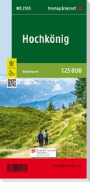 Hochkönig, Wanderkarte 1:25.000