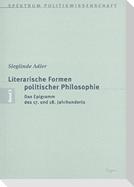 Literarische Formen politischer Philosophie