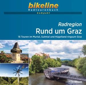 Radregion Rund um Graz - 16 Touren im Murtal, Sulmtal und Hügelland ringsum Graz. 1:50.000, 660 km, GPS-Tracks Download, Live-Update. Esterbauer GmbH, 2021.