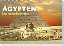 Ägypten - Eine Entdeckungsreise (Wandkalender 2022 DIN A3 quer)