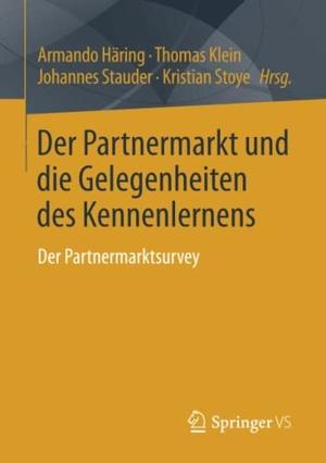 Häring, Armando / Thomas Klein et al (Hrsg.). Der