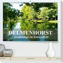 DELMENHORST - Graftanlage im Sonnenlicht (Premium, hochwertiger DIN A2 Wandkalender 2021, Kunstdruck in Hochglanz)