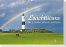 Leuchttürme: Die Schönsten an Nord- und Ostsee (Wandkalender 2022 DIN A2 quer)