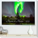 Aurora in Alaska (Premium, hochwertiger DIN A2 Wandkalender 2022, Kunstdruck in Hochglanz)
