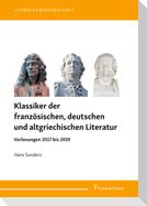 Klassiker der französischen, deutschen und altgriechischen Literatur
