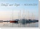 Schiff und Segel - HIDDENSEE (Tischkalender 2021 DIN A5 quer)