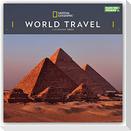 National Geographic World Travel - Weltreise 2022 - 12-Monatskalender