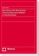 Das Kreuz mit dem Kreuz: Unentschlossene Wähler in Deutschland