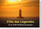 Côte des Légendes  An der wilden Westküste der Bretagne (Wandkalender 2022 DIN A4 quer)