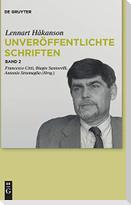 """Lennart Hakanson: Unveröffentlichte Schriften. Kommentar zu Seneca Maior, """"Controversiae"""", Buch I"""