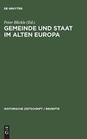 Gemeinde und Staat im Alten Europa