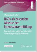 NGOs als besondere Akteure der Interessenvermittlung