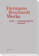 Hermann Borchardt: Werke, Band 1