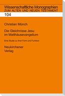 Die Gleichnisse Jesu im Matthäusevangelium
