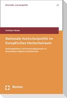 Nationale Hochschulpolitik im Europäischen Hochschulraum