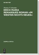 Erich Maria Remarques Roman »Im Westen nichts Neues«