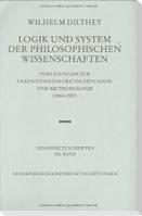 Logik und System der philosophischen Wissenschaften