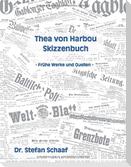 Thea von Harbou Skizzenbuch