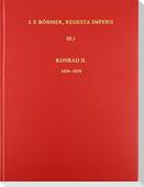 Die Regesten des Kaiserreiches unter Konrad II. 1024-1039