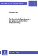 De Bonald als Repräsentant der gegenrevolutionären Theoriebildung
