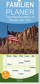 Traumlandschaften im Westen der USA (Wandkalender 2022 , 21 cm x 45 cm, hoch)
