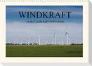 Windkraft in der Landschaft Ostfrieslands (Wandkalender 2022 DIN A3 quer)