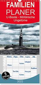 U-Boote - Militärische Ungetüme (Wandkalender 2022 , 21 cm x 45 cm, hoch)