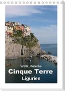 Weltkulturerbe Cinque Terre, Ligurien (Tischkalender 2022 DIN A5 hoch)