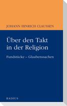 Über den Takt in der Religion