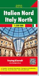 Italien Nord 1 : 500 000 Autokarte