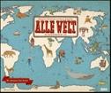 Alle Welt 2022 - Landkarten-Kalender von DUMONT- Kinder-Kalender - Querformat 58,4 x 48,5 cm