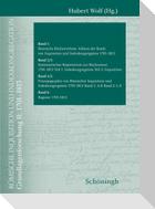 Römische Inquisition und Indexkongregation. Grundlagenforschung I