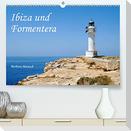 Ibiza und Formentera (Premium, hochwertiger DIN A2 Wandkalender 2022, Kunstdruck in Hochglanz)
