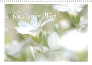 Fotokullt. Alle Farben weiss (Wandkalender 2022 DIN A3 quer) - Weiße Blüten mit viel Unschärfe (Monatskalender, 14 Seiten ). Calvendo, 2021.