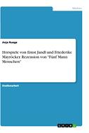 """Hörspiele von Ernst Jandl und Friederike Mayröcker. Rezension von """"Fünf Mann Menschen"""""""