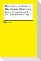 Deutsche Geschichte 9 in Quellen und Darstellung